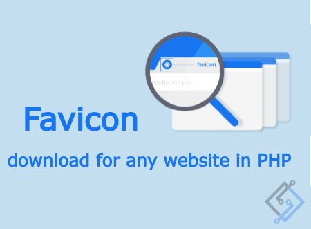 How to get favicon icons for any website in php