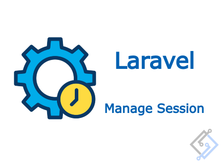 How to set and get session data in Laravel