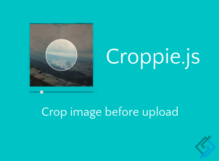 How to crop image using Croppie jQuery plugin in your web application